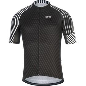 GORE WEAR C3 Fietsshirt korte mouwen Heren wit/zwart